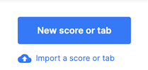 Import a score or tab