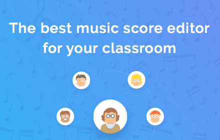 flat.io - The best music score editor for your classroom