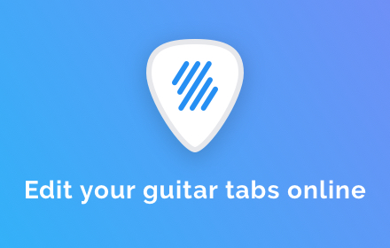 The online ultimate guitar pro tabs editor - Flat